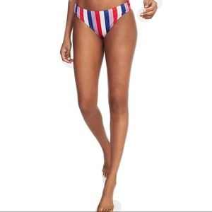 Old Navy Red, White & Blue Stripe Bikini Bottom.